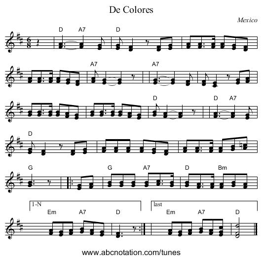 Abc De Colores Trillianmitjcmusicabcprogramdecolores