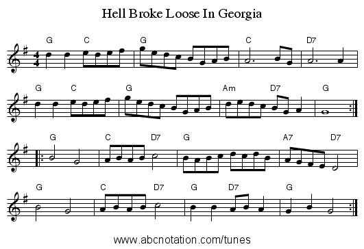 http://abcnotation.com/getResource/downloads/image/hell-broke-loose-in-georgia.png?a=abc.sourceforge.net/NMD/nmd/reelsh-l.txt/0005
