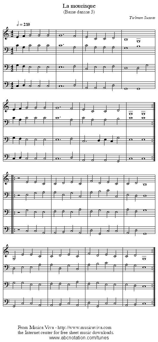 All Music Chords mary did you know sheet music free : abc   La mourisque - trillian.mit.edu/~jc/music/abc/mirror ...