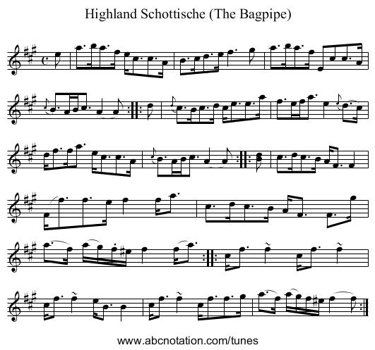 abc | Leburn's Highland Bagpipe - tunearch org/wiki/Leburn