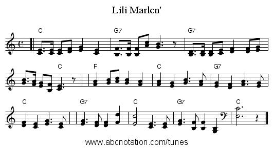 http://abcnotation.com/getResource/downloads/image/lili-marlen.png?a=trillian.mit.edu/~jc/music/abc/Germany/tune/Lili_Marlen_C/0000