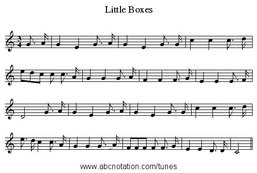 William Jaird Levitt : Gc vc petites boites quot caja l espagnole traditional