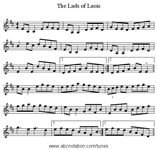 http://abcnotation.com/getResource/downloads/image/the-lads-of-laois.png?a=trillian.mit.edu/~jc/music/abc/mirror/EdWosika/Lads_of_Laois_1/0000