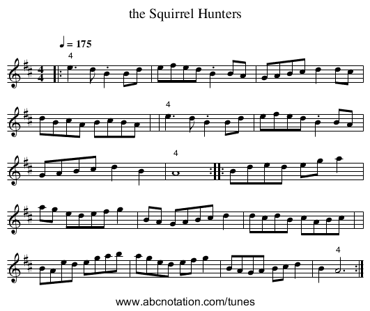 http://abcnotation.com/getResource/downloads/image/the-squirrel-hunters.png?a=trillian.mit.edu/~jc/music/abc/OldTime/LlarryBrandon/0004