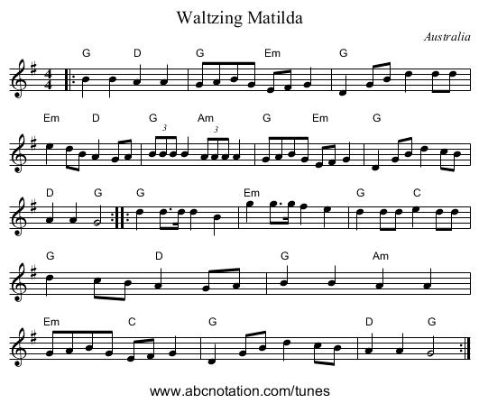 Waltzing Matilda Song / dyrevelferd.info