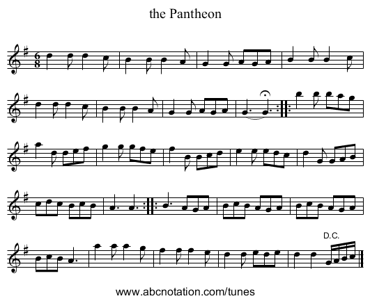 And will you be - staff notation