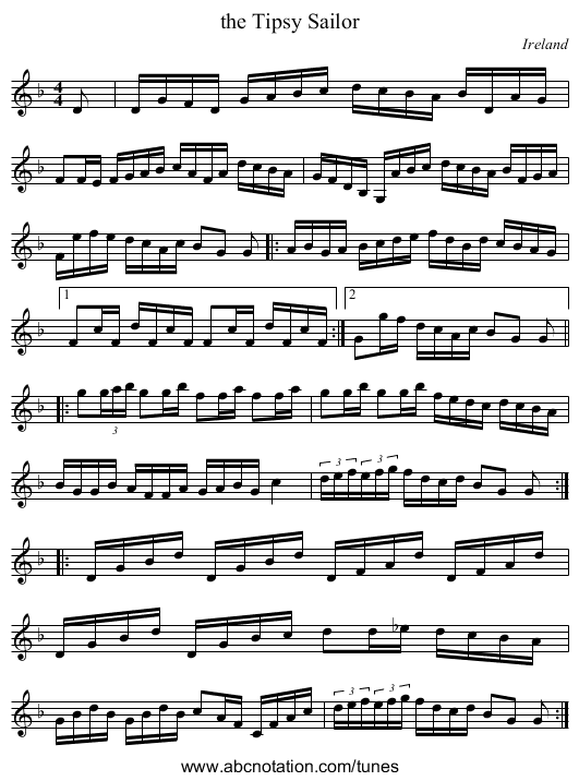 Clog Waltz (for Bb instruments) - staff notation