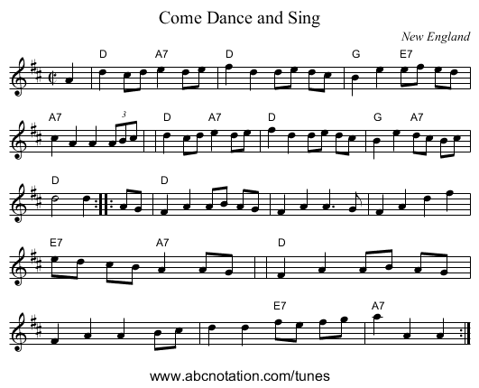Connaught-Man's Rambles - staff notation