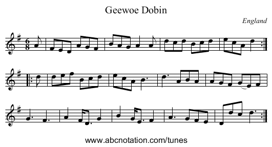 Easter Elchies, a Reel - staff notation