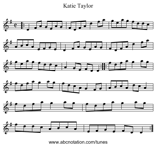 Lamentation for the Fairies - staff notation
